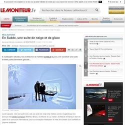En Suède, une suite de neige et de glace - Réalisations