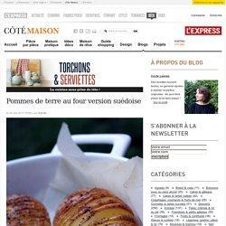 Pommes de terre au four version suédoise