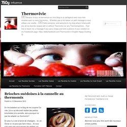 Brioches suédoises à la cannelle au thermomix