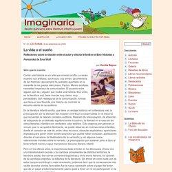 La vida o el sueño - Imaginaria No. 33 - 6 de setiembre de 1999