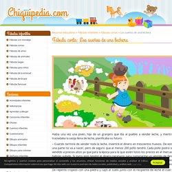 Los sueños de una lechera (Fábula corta) ® Chiquipedia