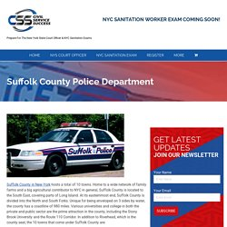 Suffolk County Police Department - Civil Service Success