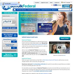 Suffolk Federal Credit Union - Banking, Loans, Credit Cards