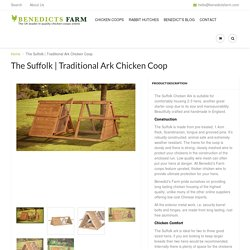 Traditional Ark Small Chicken Coop
