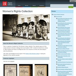 The Suffrage collection
