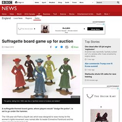 Suffragette board game up for auction