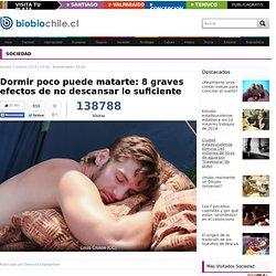 Dormir poco puede matarte: 8 graves efectos de no descansar lo suficiente