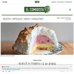 Suflé o tortilla Alaska