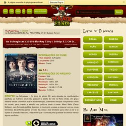 As Sufragistas (2015) Blu-Ray 720p / 1080p 5.1 CH Dublado Torrent