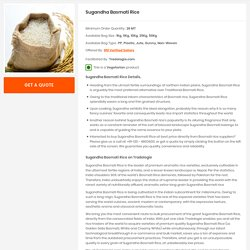 Buy Bulk Sugandha Basmati Rice Directly From Over 800 Rice Mills