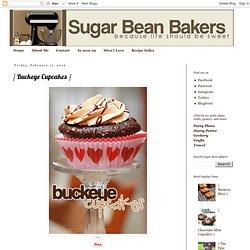 { Buckeye Cupcakes }