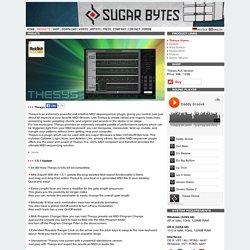 Sugar Bytes Thesys