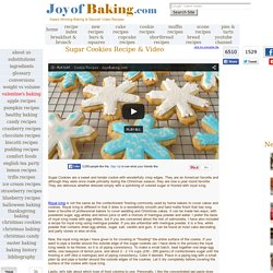 Sugar Cookies Recipe With Picture