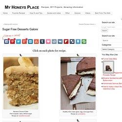 Sugar Free Desserts Galore