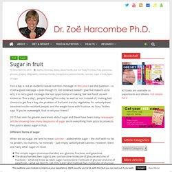 Sugar in fruit – Zoë Harcombe