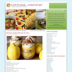 Individual Lemon Meringue Pie Cups