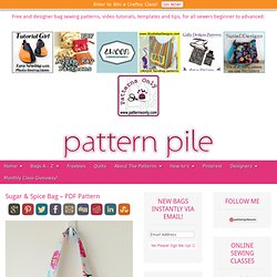 PatternPile.com - Hundreds of Patterns for Making Handbags, Totes, Purses, Backpacks, Clutches, and more.