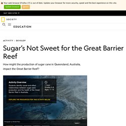 Sugar's Not Sweet for the Great Barrier Reef