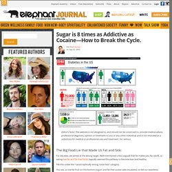 Sugar is 8 times as Addictive as Cocaine—How to Break the Cycle.