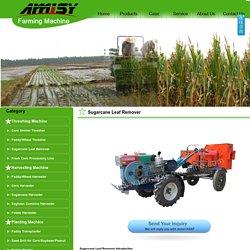 Sugarcane Leaf Remover/Sugarcane Top Cutter Manufacturer