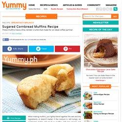 Sugared Cornbread Muffins Recipe