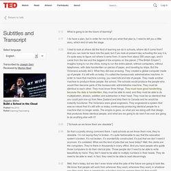 Sugata Mitra: Vybudujme Školu v oblacích