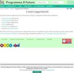 Suggerimenti didattici - ProgrammaIlFuturo.it