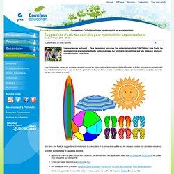 Suggestions d'activités estivales pour maintenir les acquis scolaires