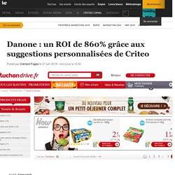 Danone : un ROI de 860% grâce aux suggestions personnalisées de Criteo
