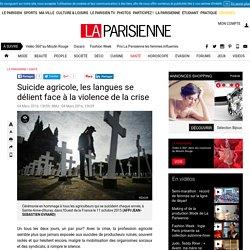 Suicide agricole, les langues se délient face à la violence de la crise