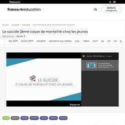 Le suicide 2ème cause de mortalité chez les jeunes