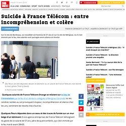 Suicide à France Télécom : entre incompréhension et colère