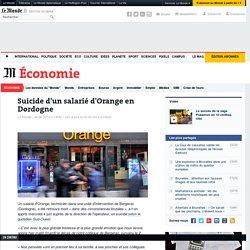 Suicide d'un salarié d'Orange en Dordogne