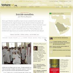 Suicide saoudien