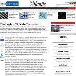 The Logic of Suicide Terrorism - Bruce Hoffman