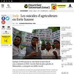 Inde. Les suicides d'agriculteurs en forte hausse