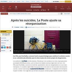 Après les suicides, La Poste ajuste sa réorganisation