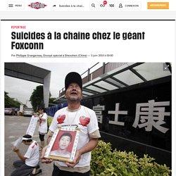 Suicides à la chaîne chez le géant Foxconn