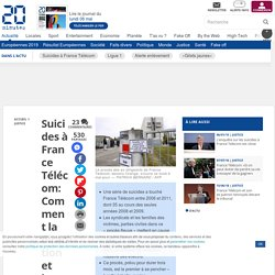 Suicides à France Télécom: Comment la direction et les pouvoirs publics sont restés sourds et aveugles aux alertes