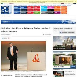 Suicides chez France Télécom: Didier Lombard entendu par un juge