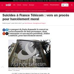 Suicides à France Télécom : vers un procès pour harcèlement moral