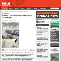 Suicides à France Télécom : hypocrisie sur toute la ligne