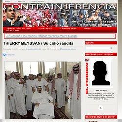 THIERRY MEYSSAN / Suicidio saudita