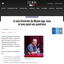 «Un médiéviste est bien armé pour comprendre Internet»: je suis historien du Moyen Age, posez-moi vos questions!