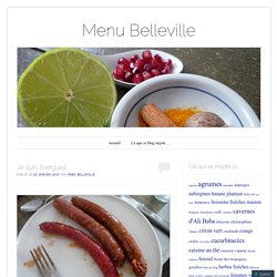 Menu Belleville