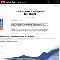 La Suisse, terre d'immigration européenne - statistiques