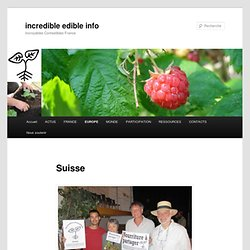 Suisse | incredible edible info