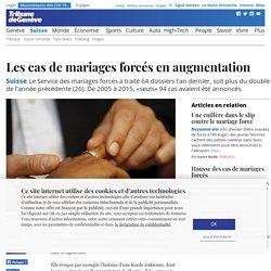 Suisse: Les cas de mariages forcés en augmentation - Suisse