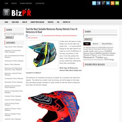 Find the Most Suitable Motocross Racing Helmets From At Motocross & Road