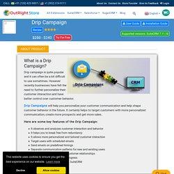 SuiteCRM Email Drip Campaign